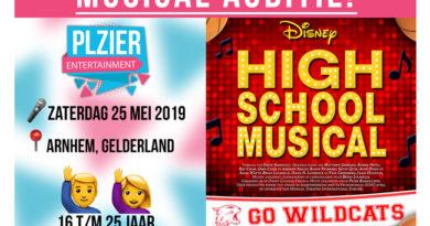 Plzier Entertainment houdt audities voor High School Musical